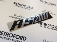Ford Escort MK1 RS2000 New badge foil